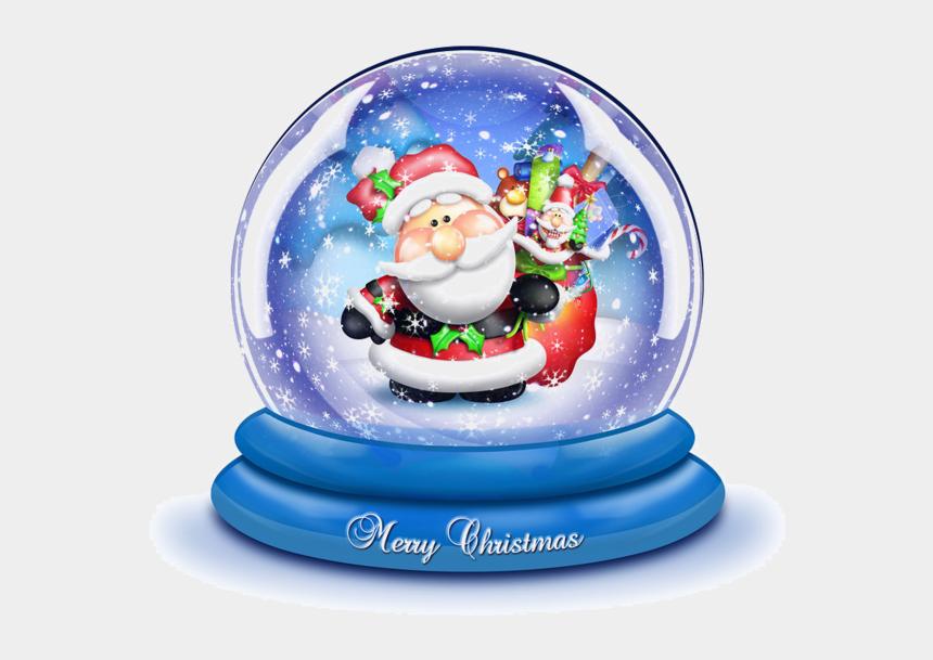 christmas snow globe clipart, Cartoons - Cartoon Christmas Snow Globe