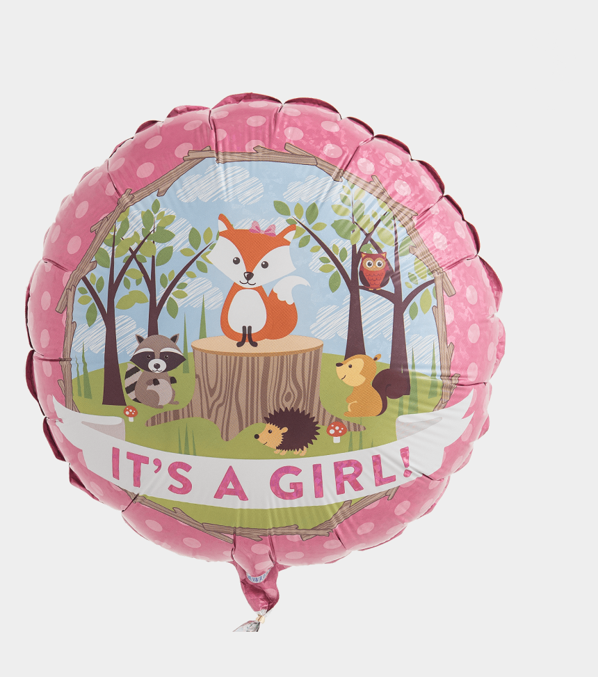 woodland critters clipart, Cartoons - Woodland It's A Girl