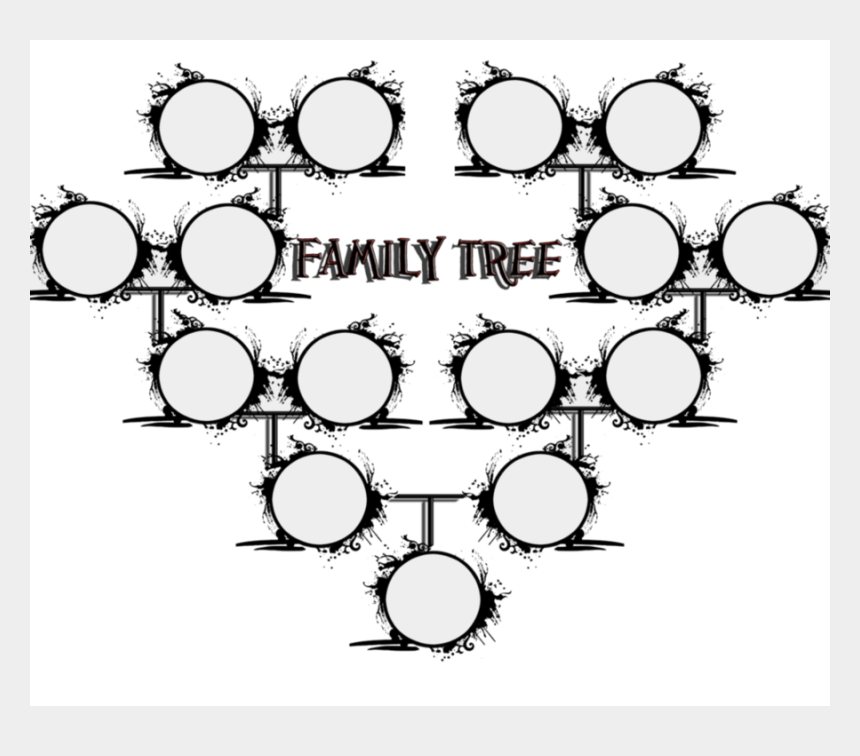 family tree clipart png, Cartoons - Coloring Cover Page For Family Tree