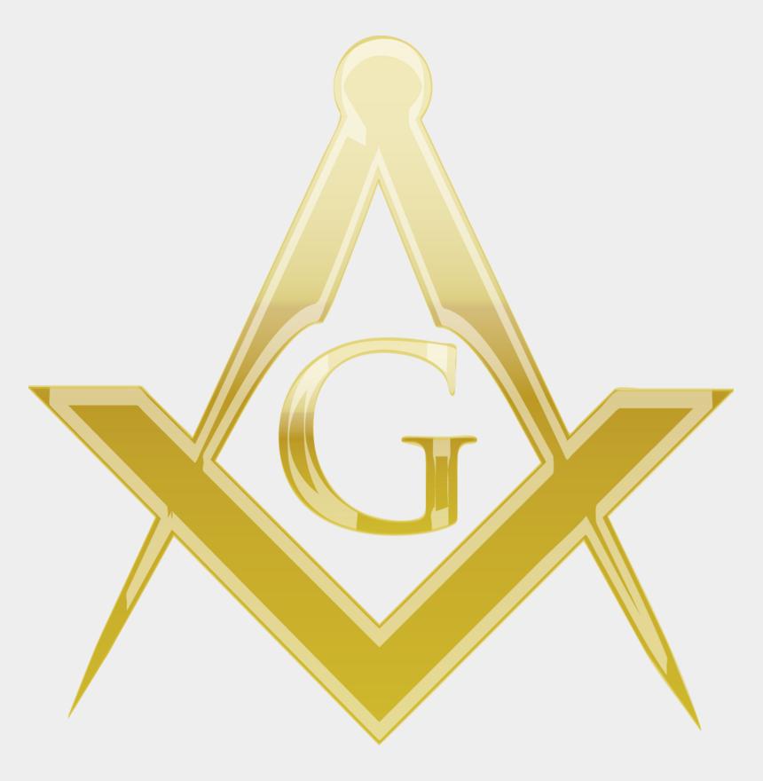 masonic clip art, Cartoons - Masonic Logo Gold Png