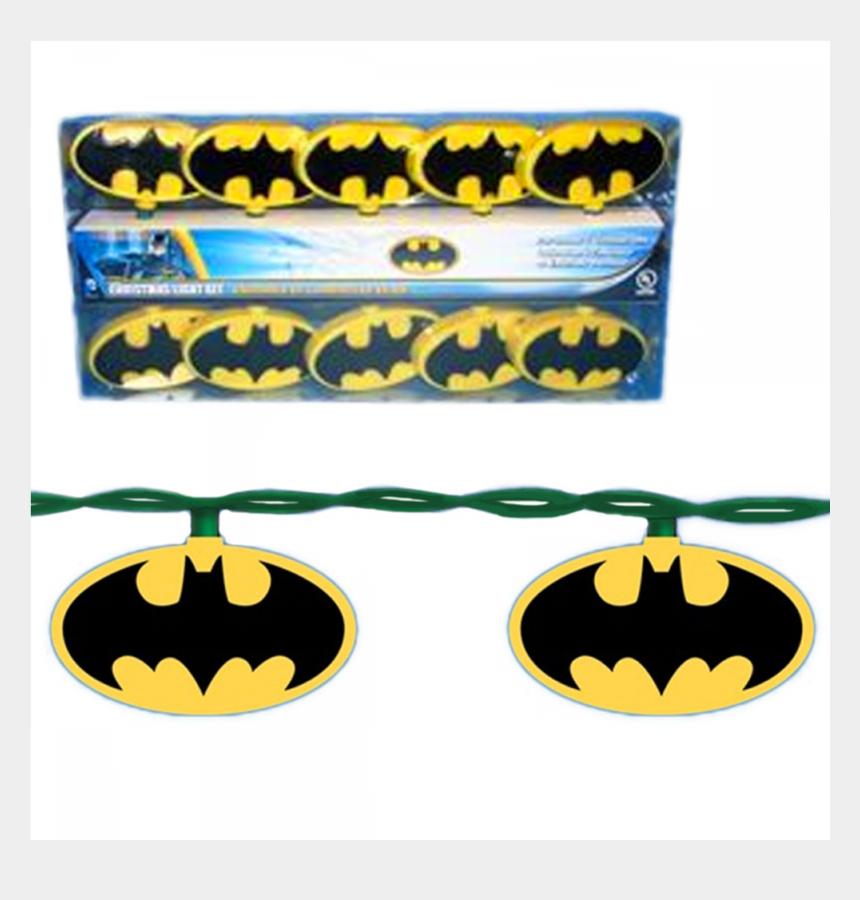 christmas light string clipart, Cartoons - Batman String Lights