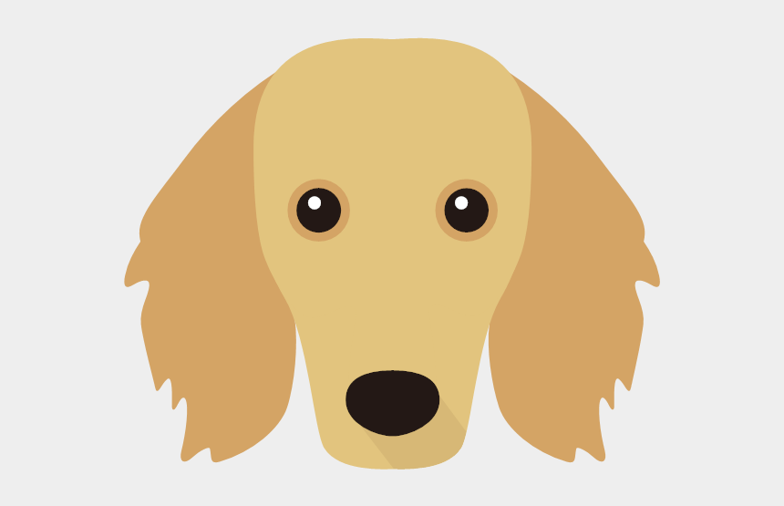 dachshund face clipart, Cartoons - English Setter Silhouette Png