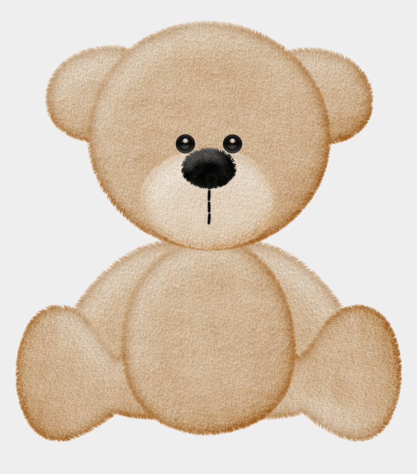 mama and baby bear clipart, Cartoons - Cgi Teddy Bear Clipart