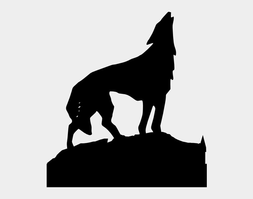 dog shadow clipart, Cartoons - Wolf Clip Art