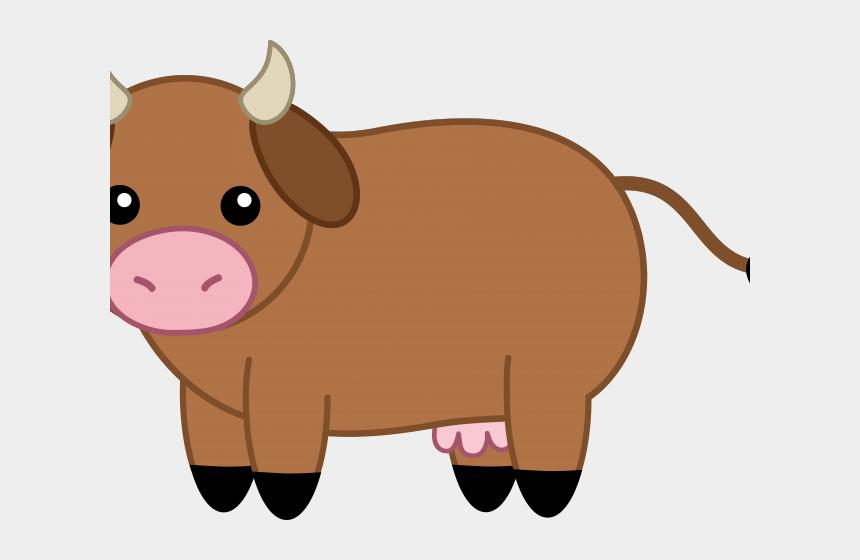 beef cattle clip art, Cartoons - Cow Brown Clip Art