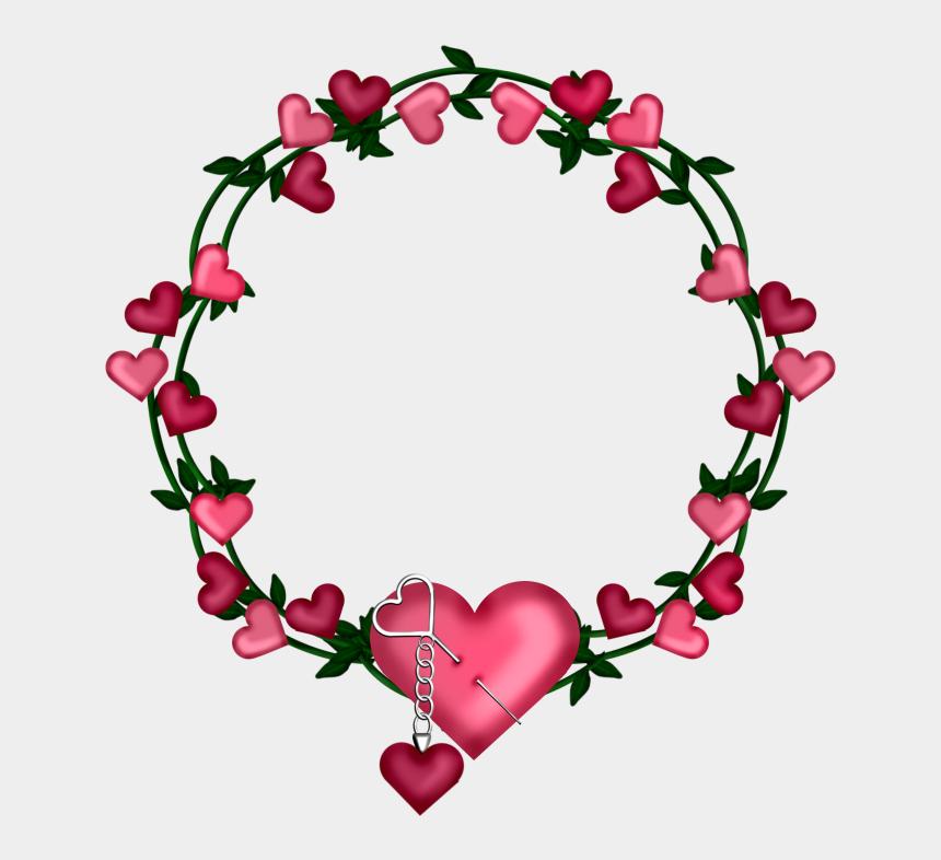 heart wreath clip art, Cartoons - Flowers Round Shape Png