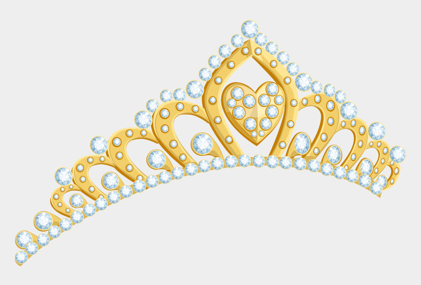 princess crown clipart images, Cartoons - Gold Tiara Clipart Transparent Background