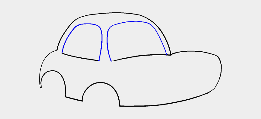 animated cars clip art, Cartoons - Cartoon Car Easy To Draw