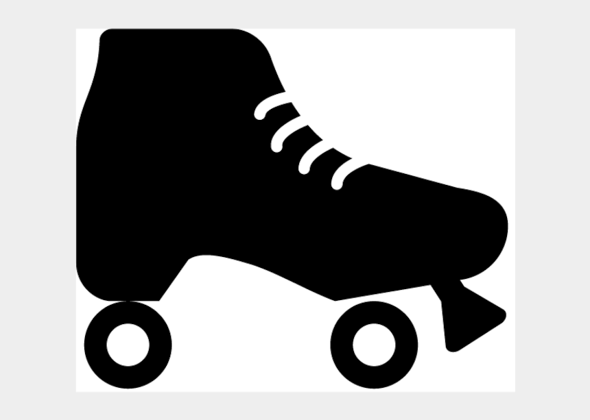 roller skating party clip art, Cartoons - Quad Skates