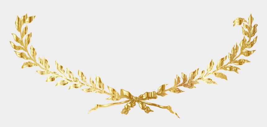 gold leaves clip art, Cartoons - Gold Decorative Vectors Png