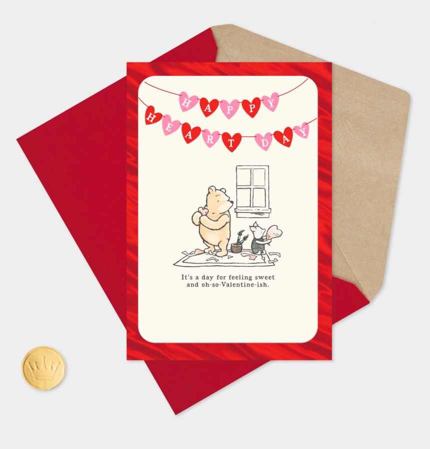 valentines day clipart animated, Cartoons - Happy Valentines Day Winnie The Pooh