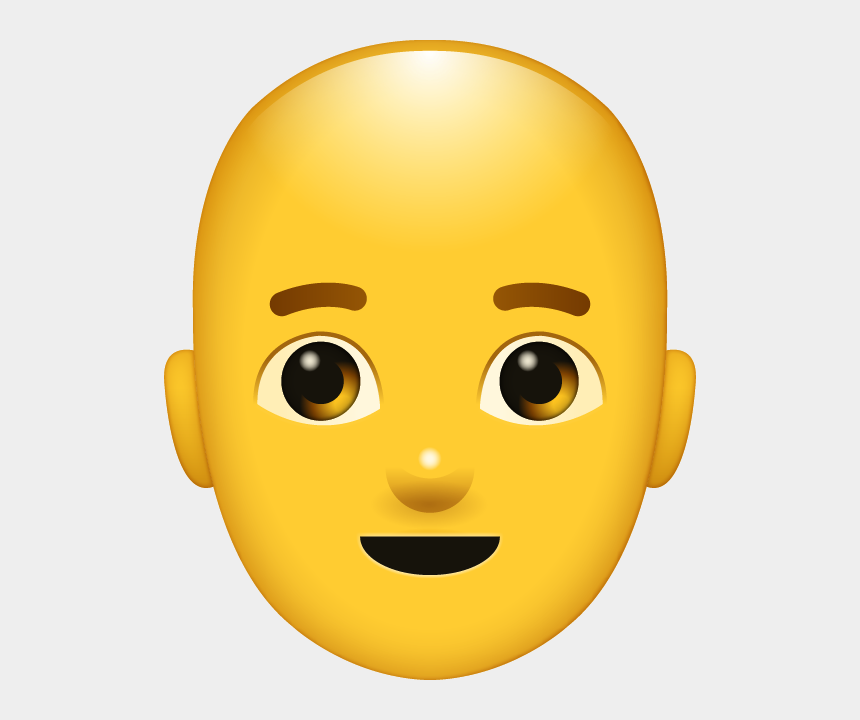 bald man clipart, Cartoons - Emoji Red Hair Png