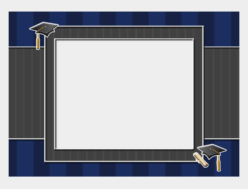 graduation borders clipart, Cartoons - Graduation Borders And Frames Png