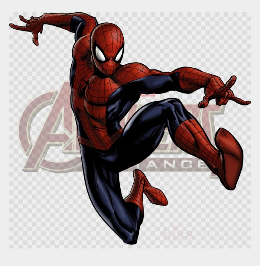 free clipart man, Cartoons - Marvel Avengers Alliance Spiderman