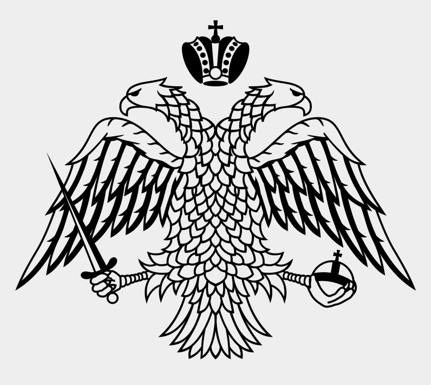 mythical creature clipart, Cartoons - Greek Double Headed Eagle