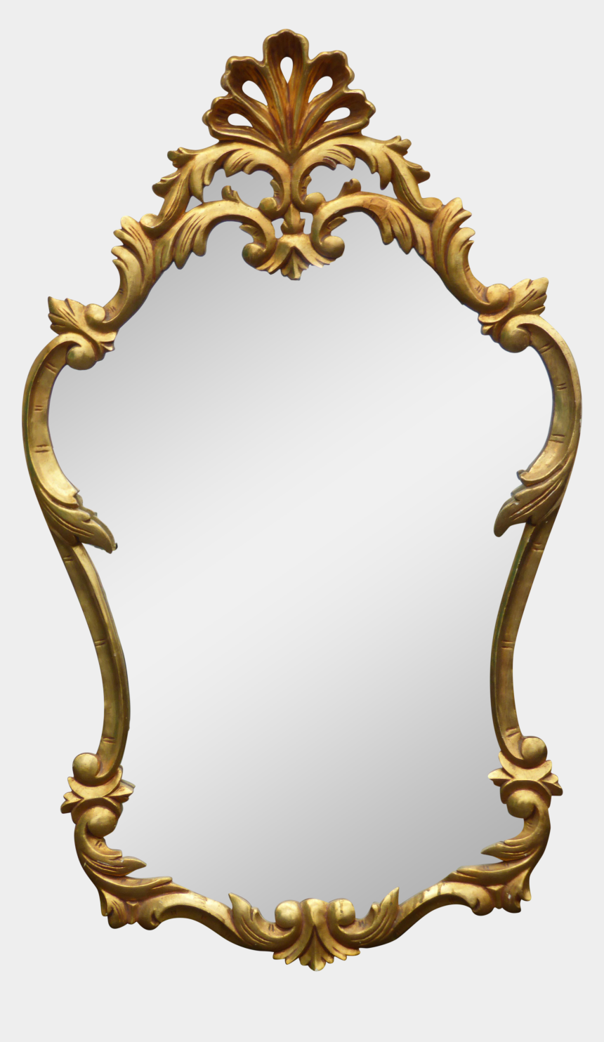 Gold Frame Mirror Png Cliparts Cartoons Jing Fm