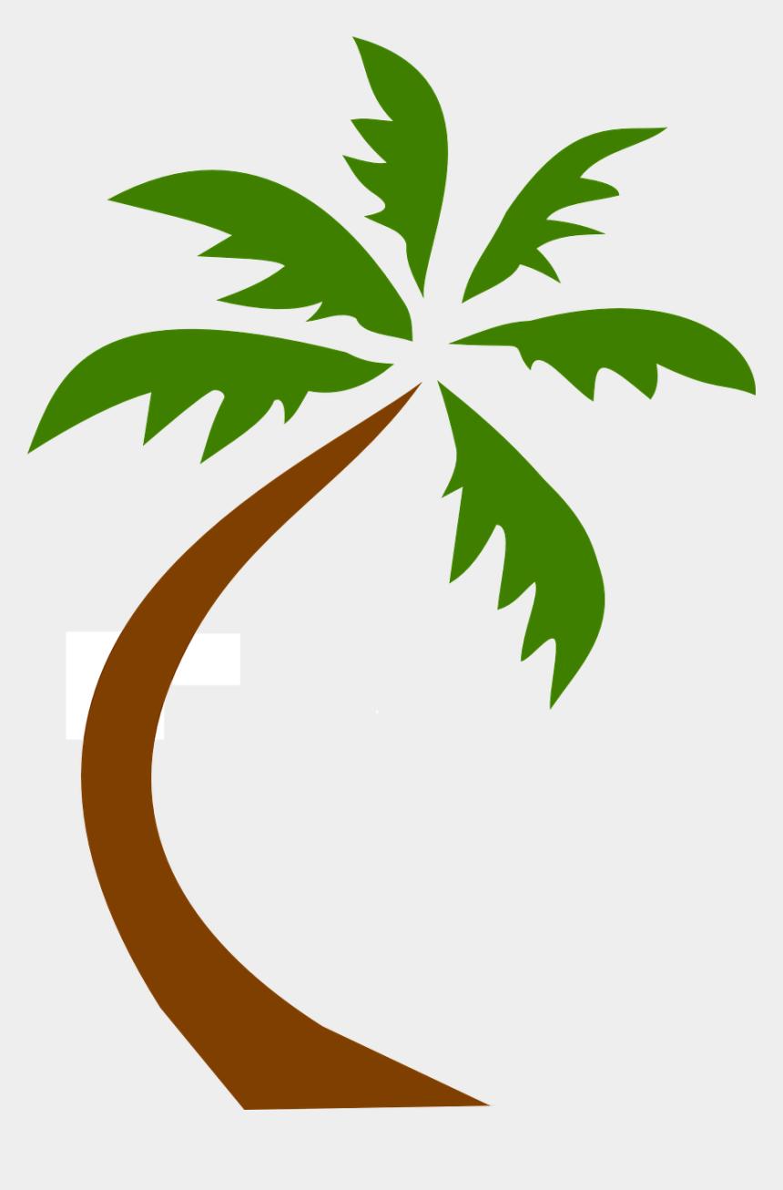 free tropical clipart, Cartoons - Palm Tree Clip Art Transparent Background