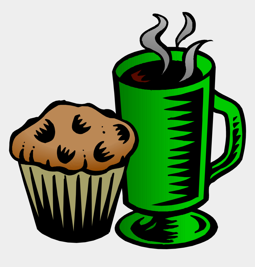 all are welcome clipart, Cartoons - Coffee And Muffin Clipart