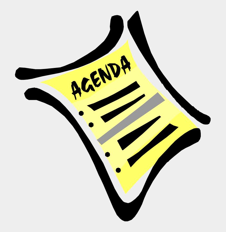 monthly meeting clipart, Cartoons - Meeting Agenda