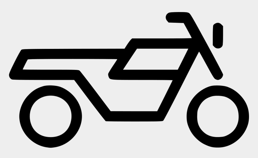 motor bike clipart png, Cartoons - Two Wheeler Icon Png