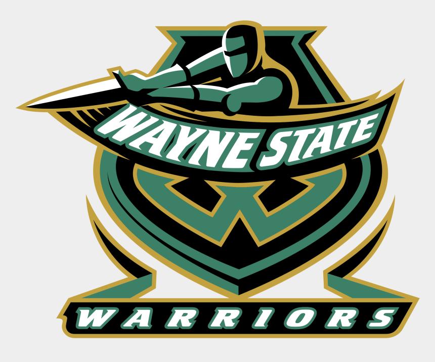 golden state warriors clip art, Cartoons - Wayne State Warriors Logo