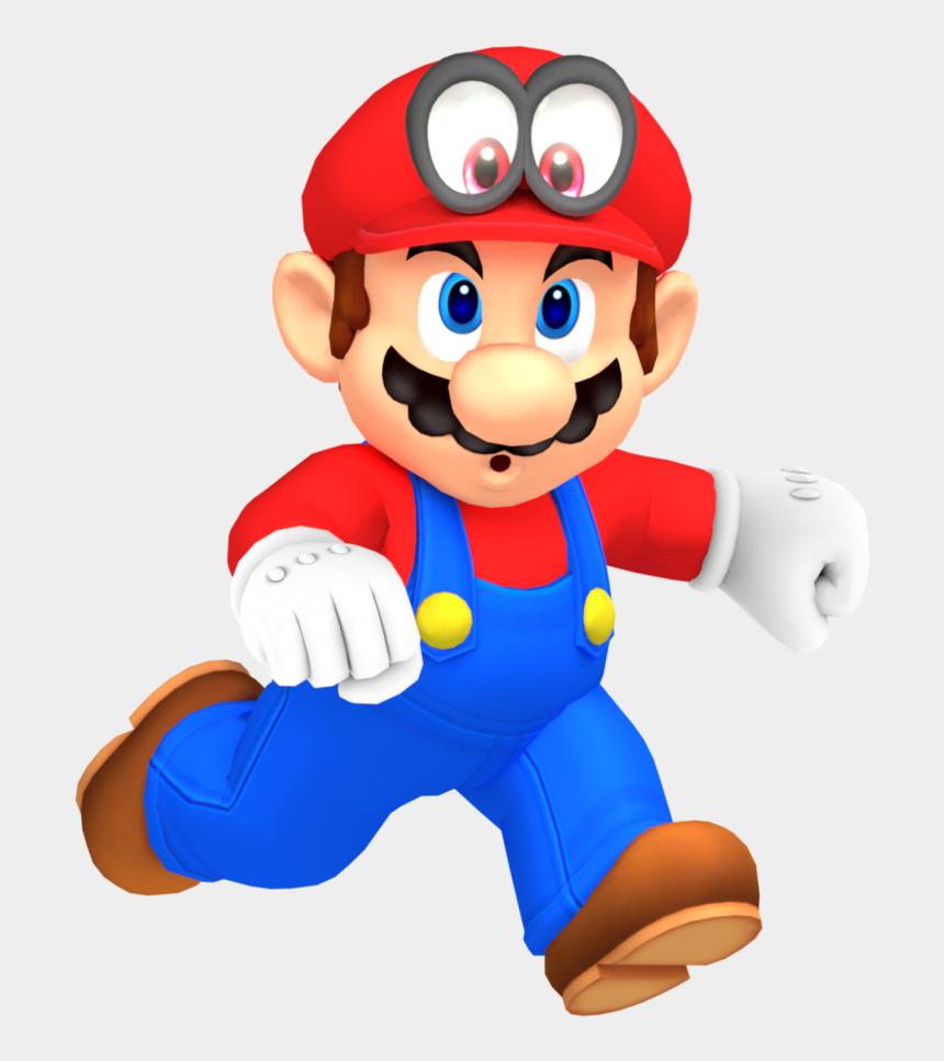 mario odyssey clipart, Cartoons - Mario Odyssey Mario Running