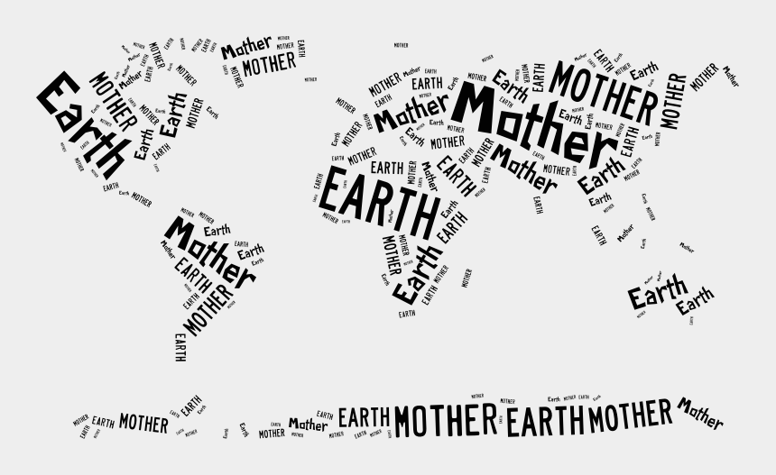 save mother earth clipart, Cartoons - Calligraphy