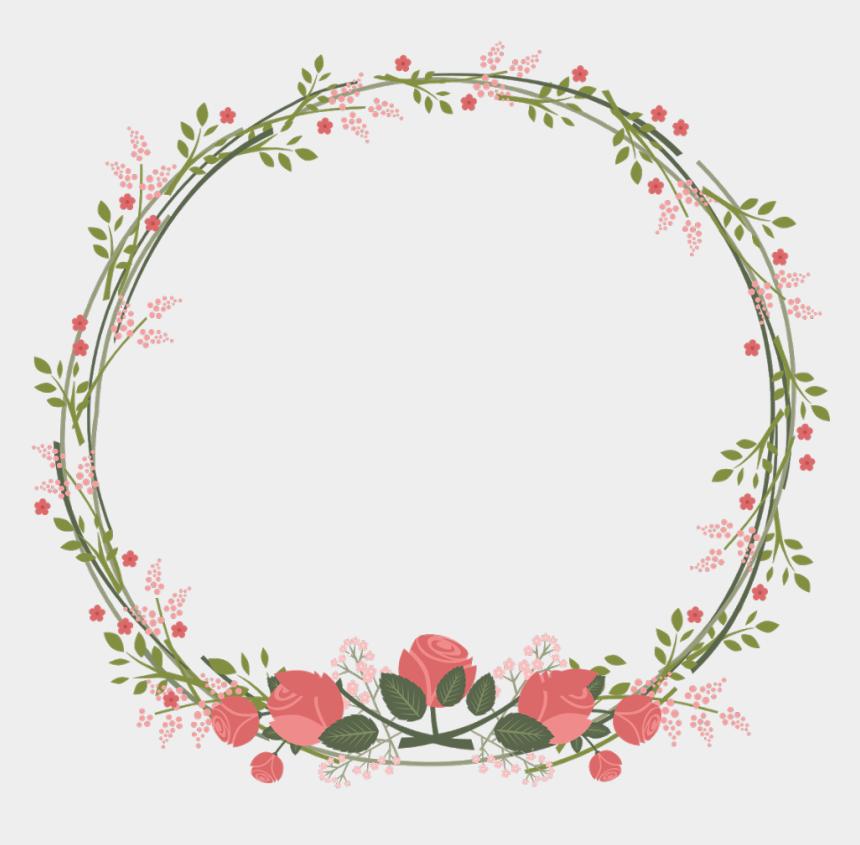 vine wreath clip art, Cartoons - Circle Border Vine Clipart