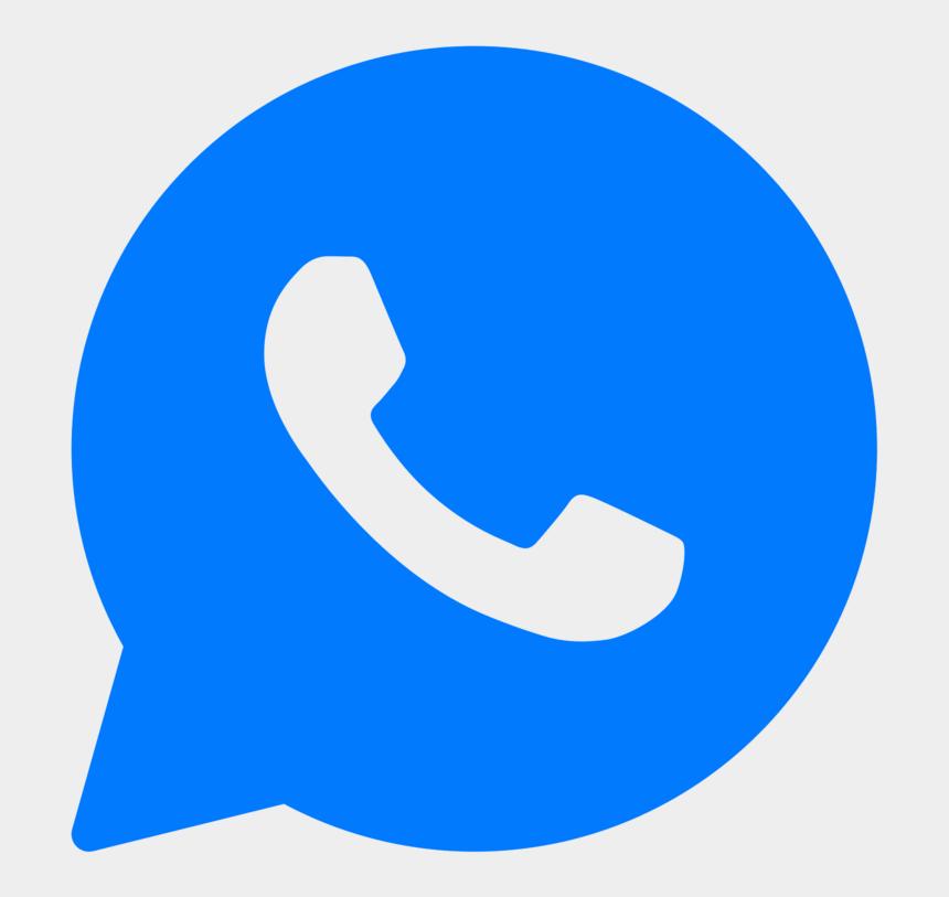 app to add clipart to photos, Cartoons - Logo Whatsapp Azul Png