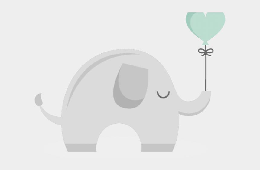 baby elephant clipart, Cartoons - Balloons Clipart Baby Elephant - Indian Elephant