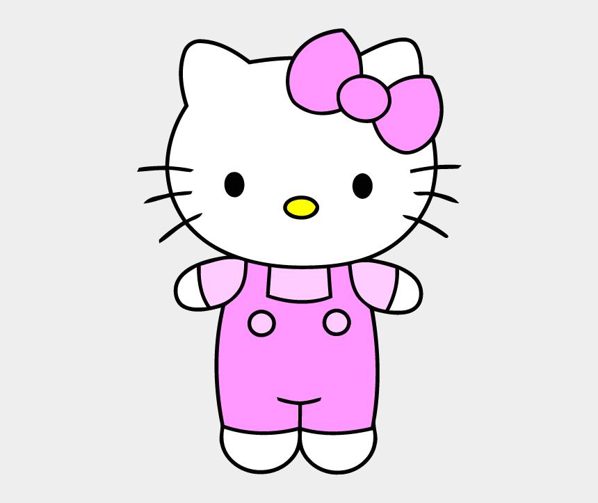 hello kitty clipart, Cartoons - Hello Kitty Clip Art - Hello Kitty Simple Drawing