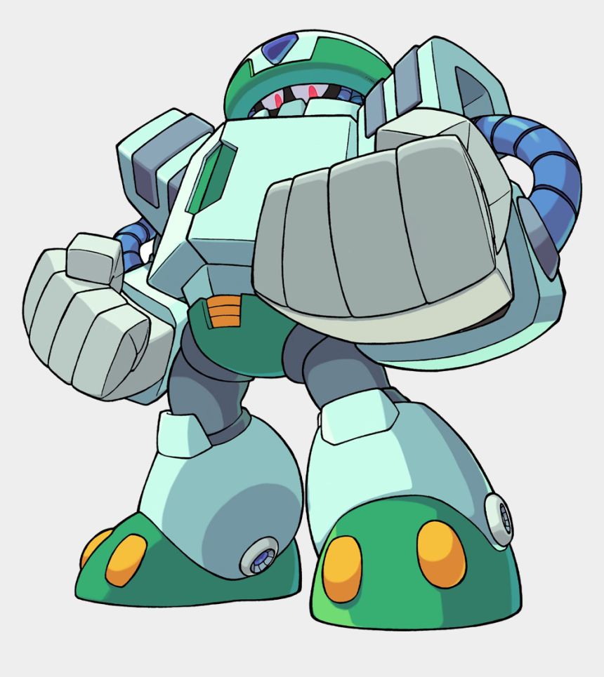 cold clipart, Cartoons - The First Time Fans In The West Were Treated To This - Mega Man Cold Man