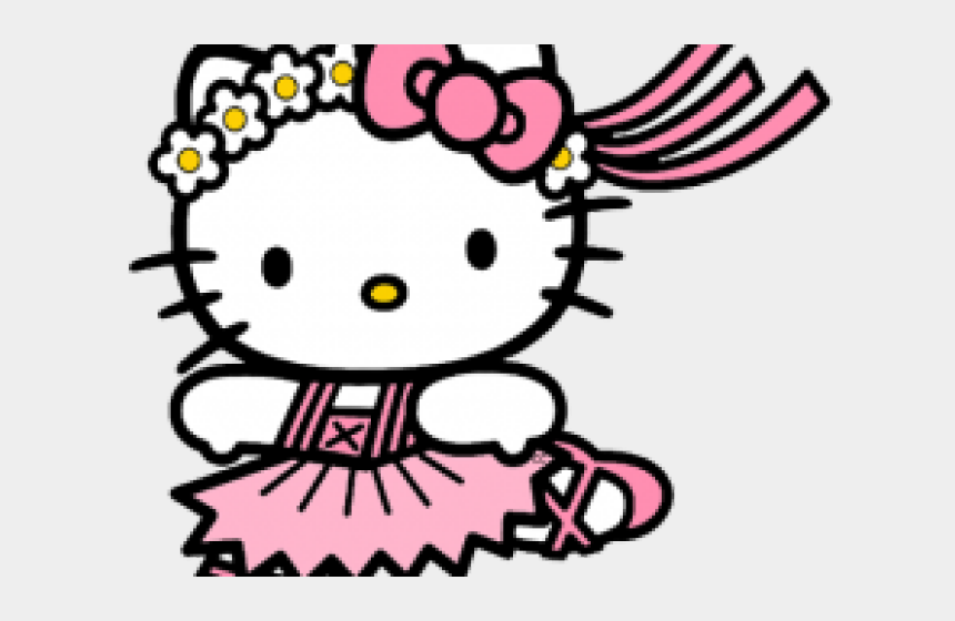 hello kitty clipart, Cartoons - Space Clipart Hello Kitty - Ballerina Hello Kitty Coloring Pages