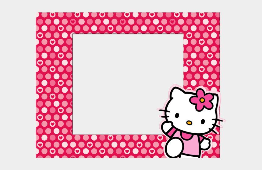 hello kitty clipart, Cartoons - Boarder Clipart Hello Kitty - Hello Kitty Background For Tarpaulin