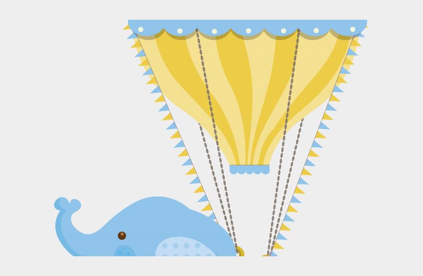 baby elephant clipart, Cartoons - Balloons Clipart Baby Elephant - Baby Shower Elephant Pink Png
