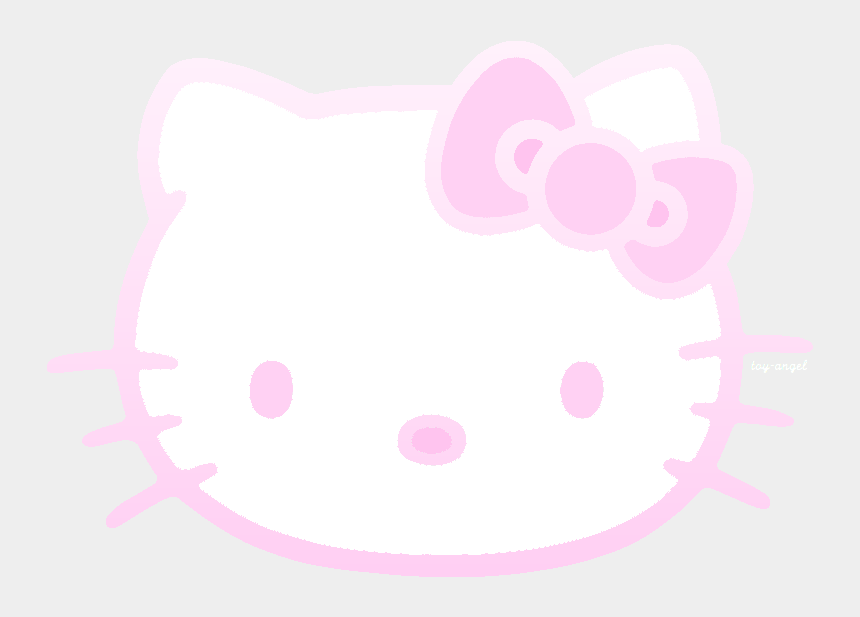 hello kitty clipart, Cartoons - Is This Your First Heart - Transparent Hello Kitty Logo
