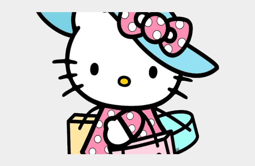 hello kitty clipart, Cartoons - Shopping Clipart Hello Kitty - Transparent Background Hello Kitty Clipart