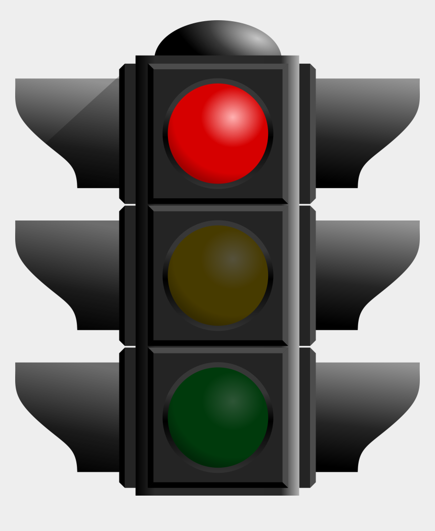 traffic light clipart, Cartoons - Traffic Light Red