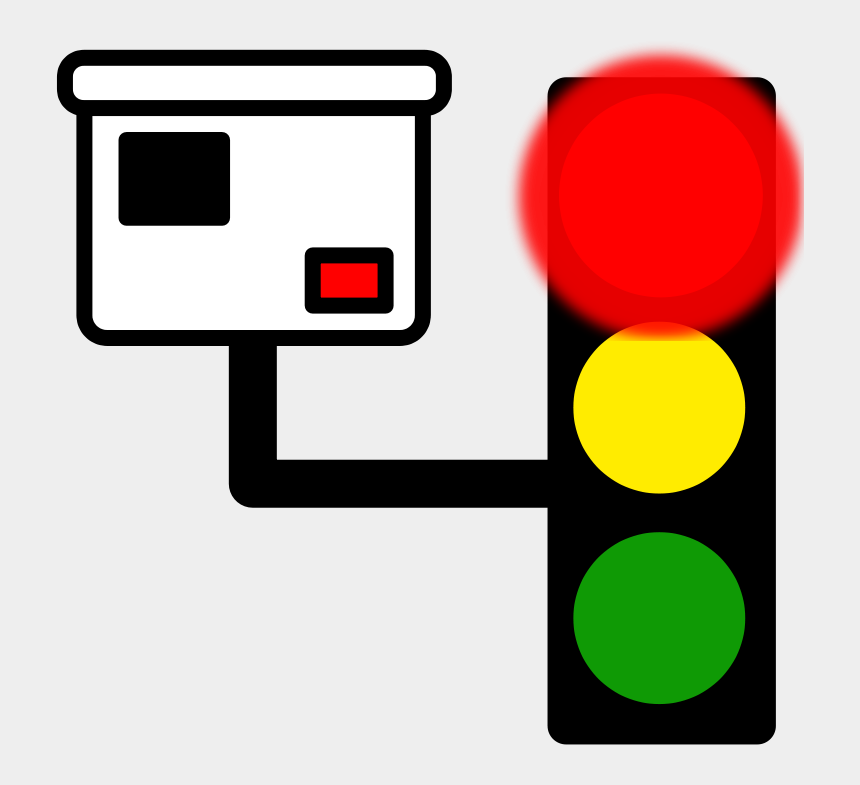 traffic light clipart, Cartoons - Red Light Camera Icon
