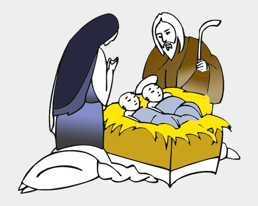 nativity scene clipart, Cartoons - Hope Thoughts From The Old Man Of The Sea Of Life - Drawing Mary With Baby Jesus
