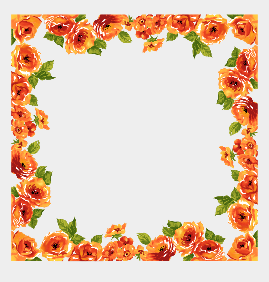 wedding clipart png, Cartoons - Wedding Frame Png - Floral Photo Frame Png
