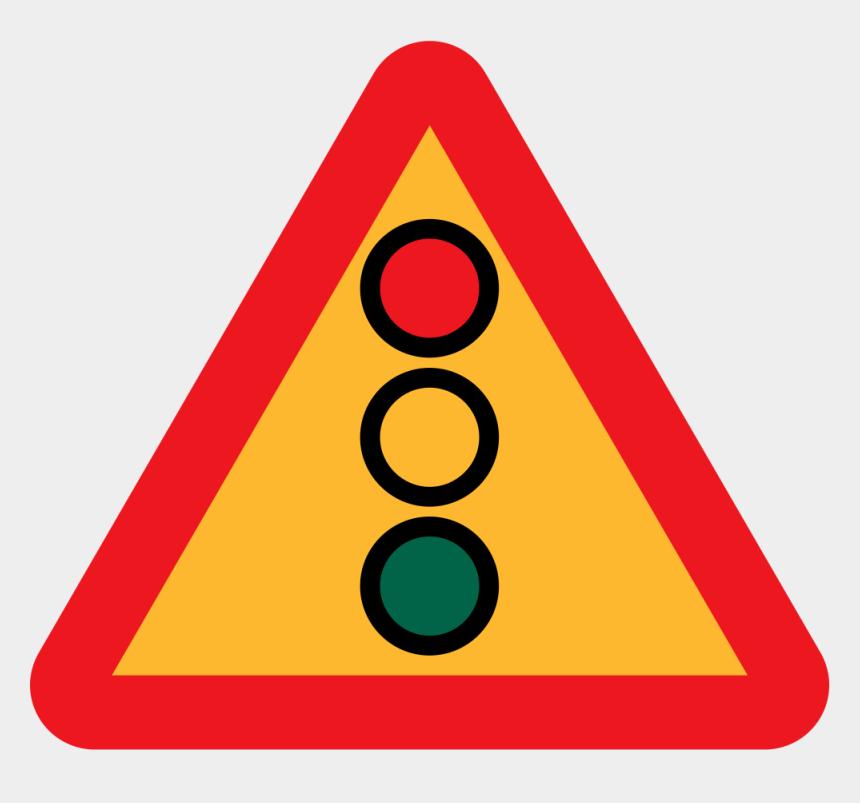 traffic light clipart, Cartoons - Traffic Light Signal Ahead