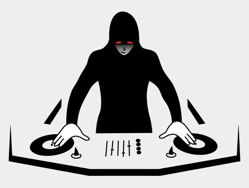 dj clipart, Cartoons - Clipart Of Dj - Dj Music Logo Png