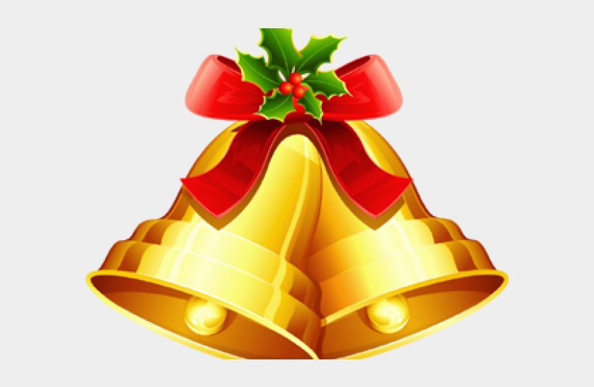 wedding bells clipart, Cartoons - Christmas Bell Clipart Christams - Golden Christmas Bells Decorations