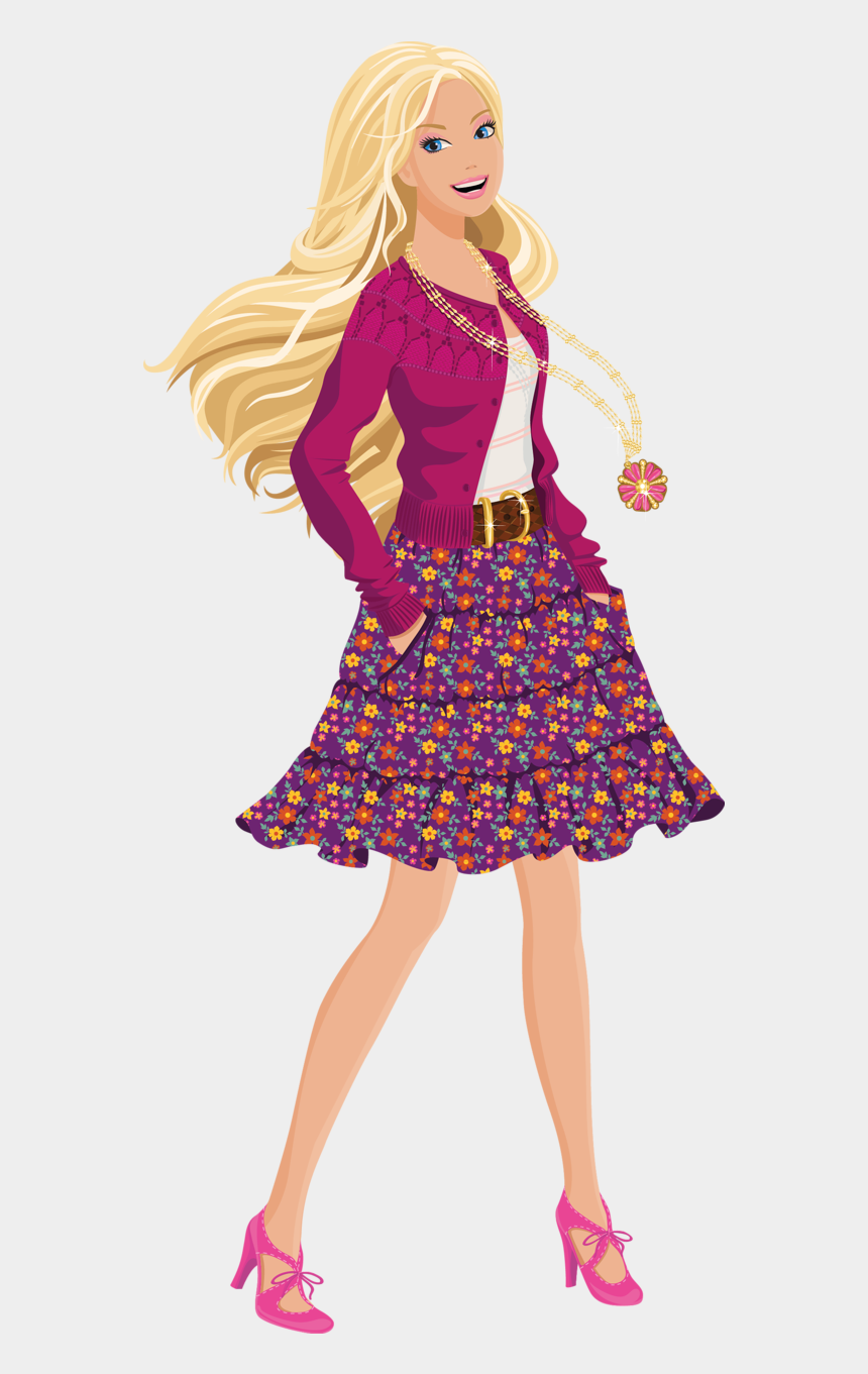 barbie clipart, Cartoons - Barbie Clipart 4 Barbie Image - Barbie Png