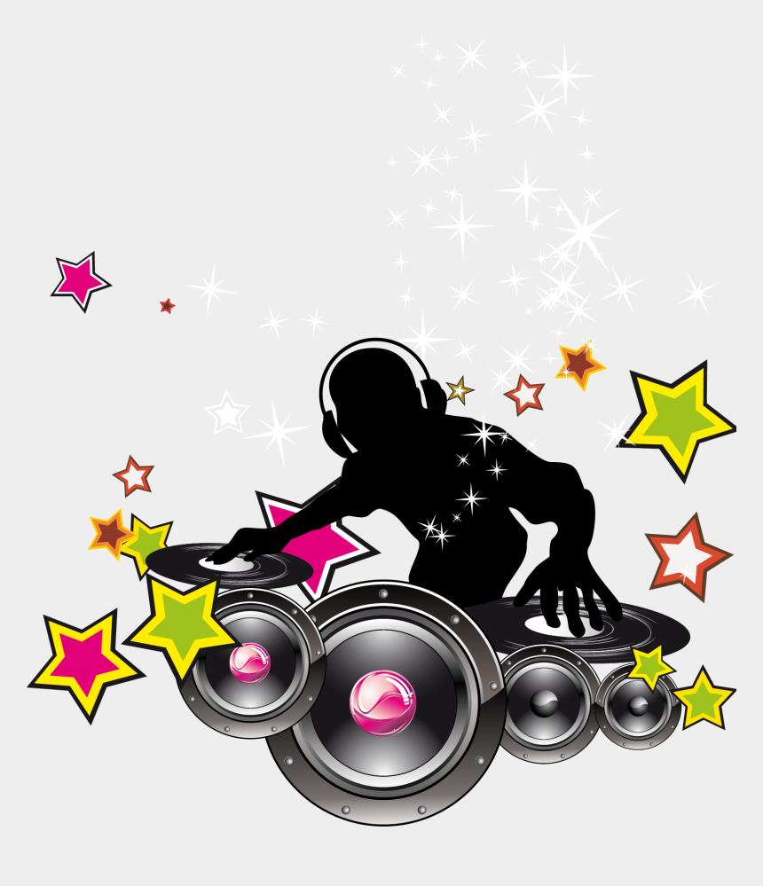 dj clipart, Cartoons - Dj Vector Free - Transparent Background Dj Png Logo