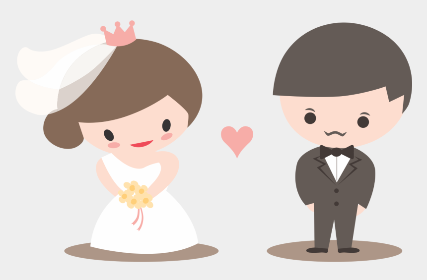 wedding bells clipart, Cartoons - Getting Married Clipart - Cute Anime Wedding Card