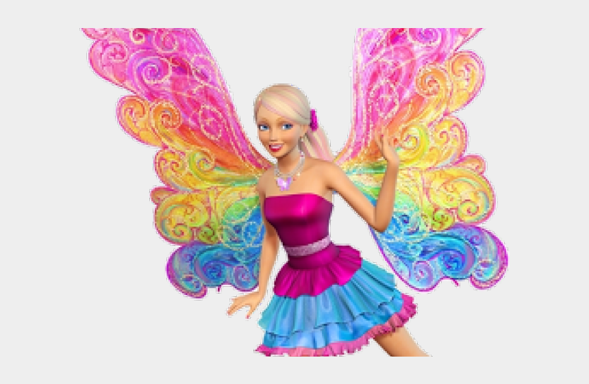 barbie clipart, Cartoons - Barbie Clipart Barbie Mariposa - Barbie Fairy Secret Wings