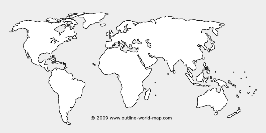 photograph relating to World Map Outline Printable identified as Maps Clipart World-wide Map Determine - Blank Globe Map For University