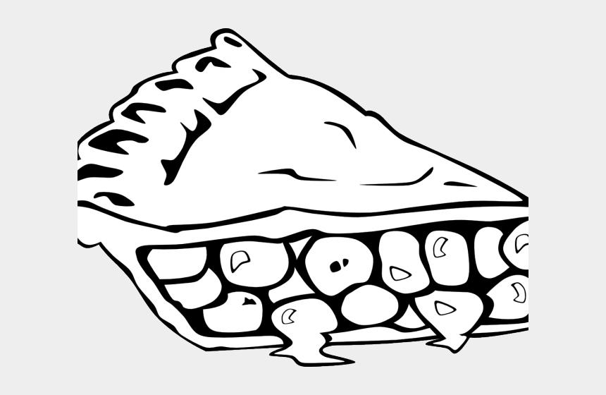 healthy food clipart, Cartoons - Healthy Food Clipart Outline - Pie Clip Art